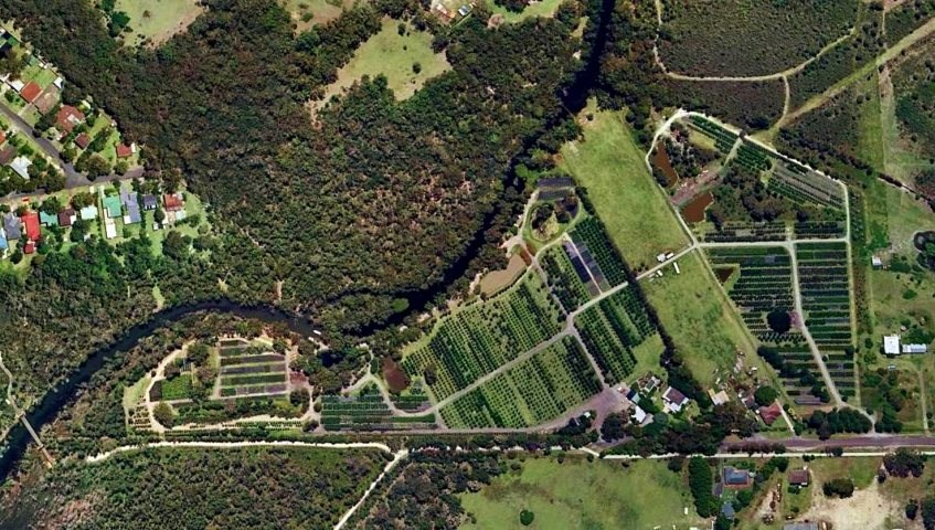 Karignan Plantation - Aerial View